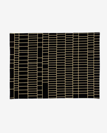 placemat-blackgoldgrid